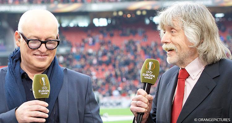 Johan Derksen en Rene van der Gijp