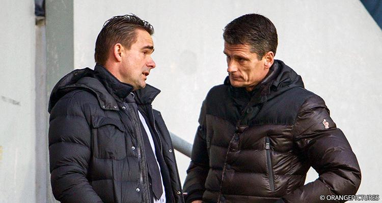 Wim Jonk en Marc Overmars
