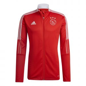 adidas Ajax Trainingsjack 2021-2022 Rood
