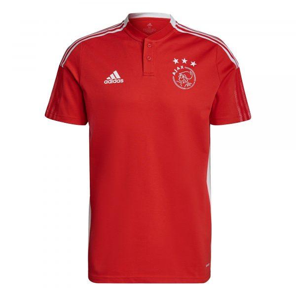 adidas Ajax Polo 2021-2022 Rood