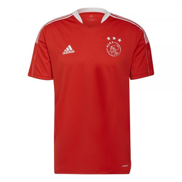 adidas Ajax Trainingsshirt 2021-2022 Rood